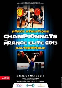 Championnats de France elite FFHMFAC 2013