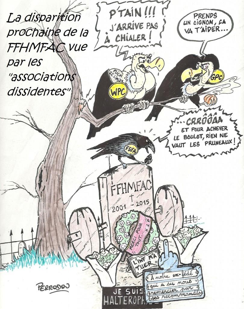 Dessin humour séparation FFHMFAC